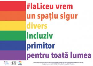 #laLiceu vrem un spațiu sigur, divers, incluziv și primitor pentru toată lumea